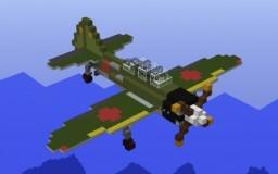 Mitsubishi A6M Minecraft Map & Project