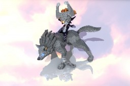 Wolf Link & Midna Minecraft Project