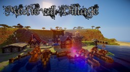 The Old Oak Ville | Medieval Village Minecraft Map & Project