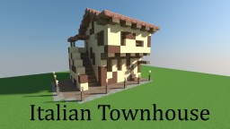 Italian Townhouse -Medieval- Minecraft Map & Project