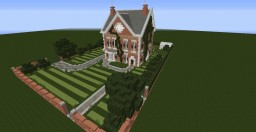 Small Georgian Style House Minecraft