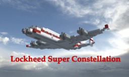 Lockheed Super Constellation Minecraft Project