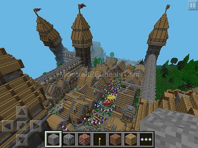 Minecraft huge kingdom 1 minecraft huge kingdom 1 diamonds