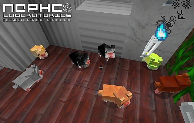NephCOLaboratories Hamster Textures for Hamsterrific Mod