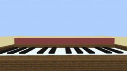 Minecraft Piano without Pressure Plates Minecraft Project