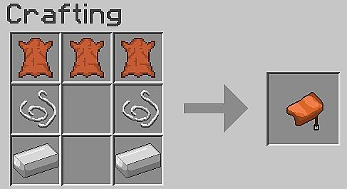minecraft craft saddle ore recipes bukkit plugin minecraft mod 2471
