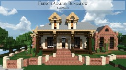 French Acadian Bungalow | World of Keralis Minecraft