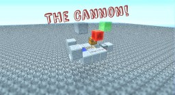 Minecart Based TNT Cannon Minecraft Map & Project
