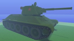 T-34-76 mod. 1942 Minecraft Project