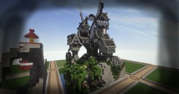 Steampunk | Plotbuild | Timelapse | by Iluminatorlp | Vadact Server Minecraft Map & Project