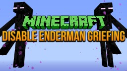 Disable Enderman Griefing Minecraft 1.8 Tutorial