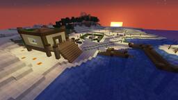 Beach House Minecraft Map & Project