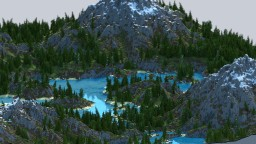 Adryns River - Custom World Painter Map Minecraft