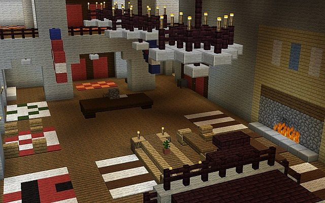 The Shining Overlook Hotel Minecraft Project