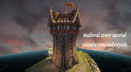 Medieval watchtower tutorial Minecraft Map & Project