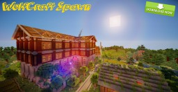 WolfCraft Spawn    [World Download!]     - 100% Furnished! -