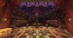 Garnet Royal Theatre - co-build Minecraft Map & Project