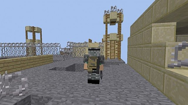 Deadly orbit 1 5 2 crafting dead map minecraft project for Crafting dead mod download