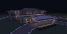 Modern Gated House Minecraft