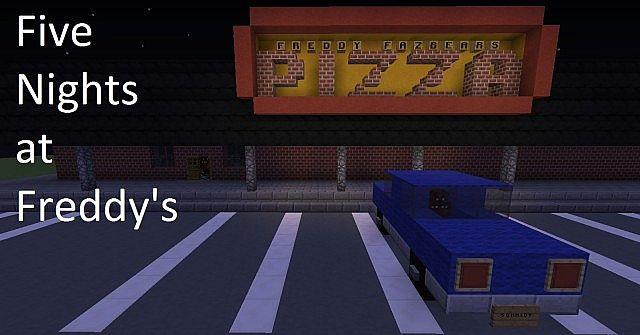 minecraft 5 ninjas of freddy fazbears pizza