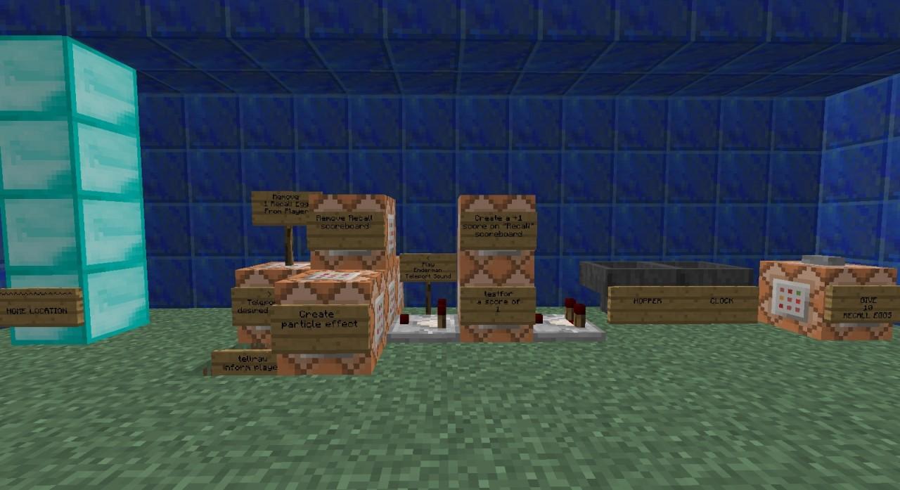 Recall Eggs Teleport Home With A Scroll Of Er Egg Of Recall - Minecraft spieler zum spawn teleportieren