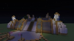 Karabor - Draenei Temple from WoW Minecraft Map & Project
