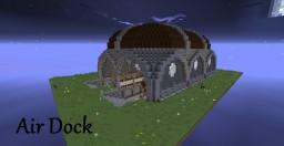 Steam Punk Air Dock! 25 Diamonds? {Pop Reel} Minecraft