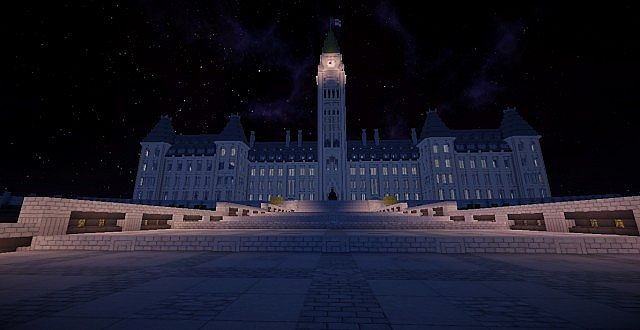 how to build a parliament building in minecraft