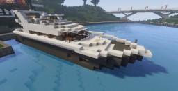 Modern Yacht 01 Minecraft Map & Project