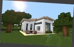 15x15 Modern House Minecraft Project