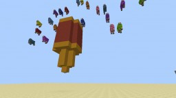 Party Popper Using Redstone Minecraft Project