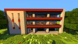 Urban residential apartment house 3 Minecraft
