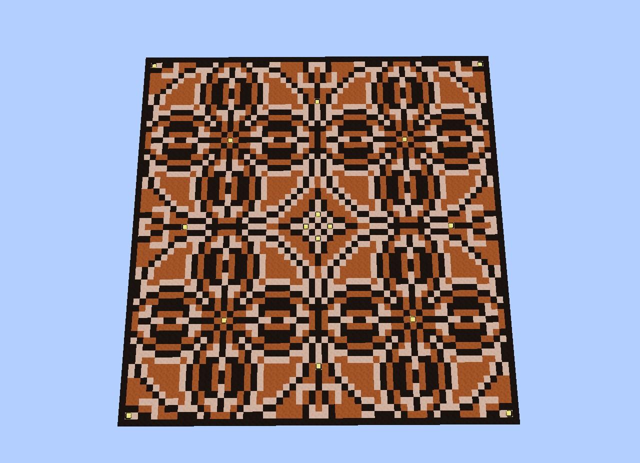 Floor design minecraft project for Minecraft floor designs