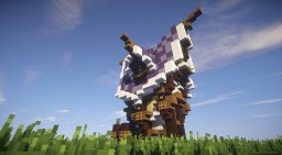 Mini Mondays: Elven home Minecraft Map & Project