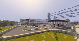 Strip Mall/Petro Canada |ECS Minecraft Map & Project
