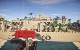 Panas, the Pyramid City Minecraft Map & Project