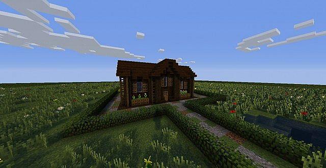 Dark Oak House - Made by 007joshie! Minecraft Map