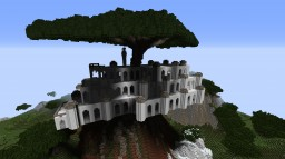 Laputa - City in the sky Minecraft Project