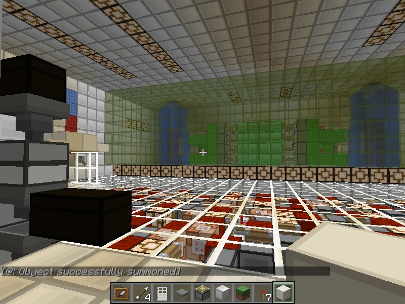 The Science Lab Minecraft Project