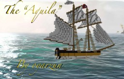 "The ""Aquila"" A royal navy schooner Minecraft Map & Project"