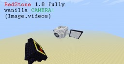 1.8 Redstone Camera fully vanilla Minecraft