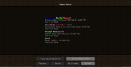 How to have Colours in your Vanilla Minecraft World Name! (For Windows/Linux Users Only) Minecraft Blog