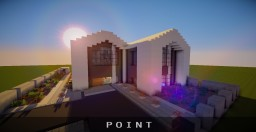 Point - Modern House Minecraft Map & Project