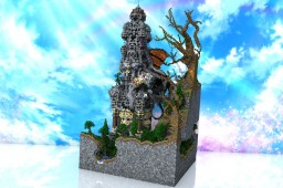 RaeJar's Tower (101x101 Plot) Minecraft Map & Project