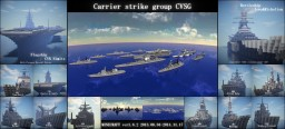 Original Carrier Strike Group ''CVSG'' Minecraft Map & Project