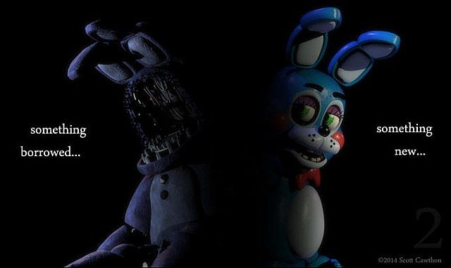 Five Nights at Freddys 2. The office