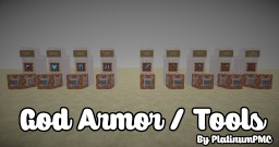 God Armor & Tools - Commands Minecraft Blog Post