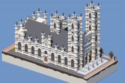 Huntington City's Cathedral | ECS Minecraft
