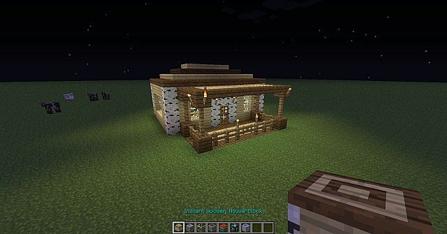 Instant Wooden House