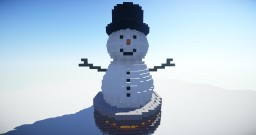 Cute Snowman Download Minecraft Map & Project